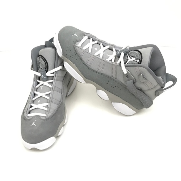 best loved efa83 c496c Jordan | 6 rings gray GS sneaker kids